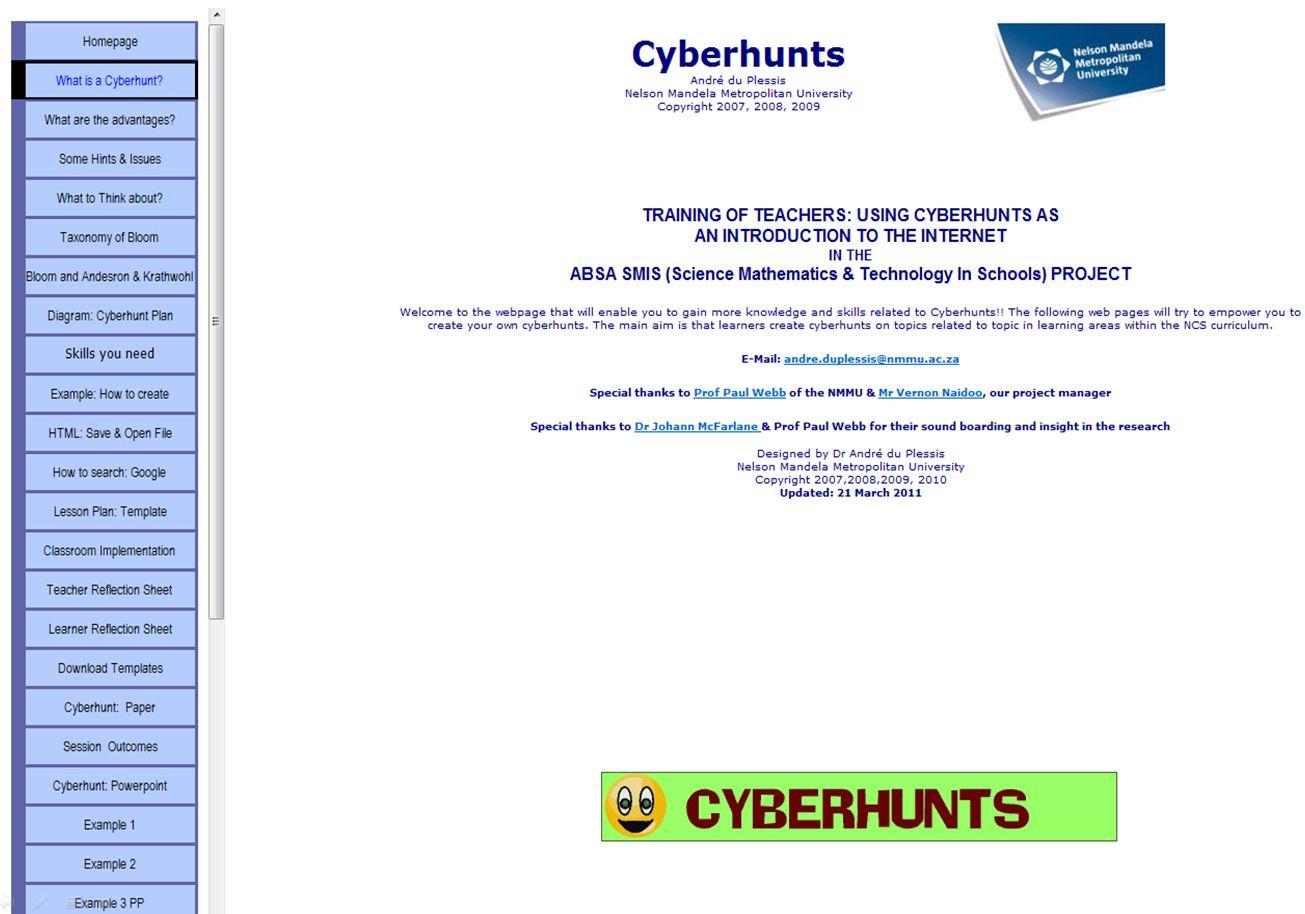 Cyberhunt Strategy