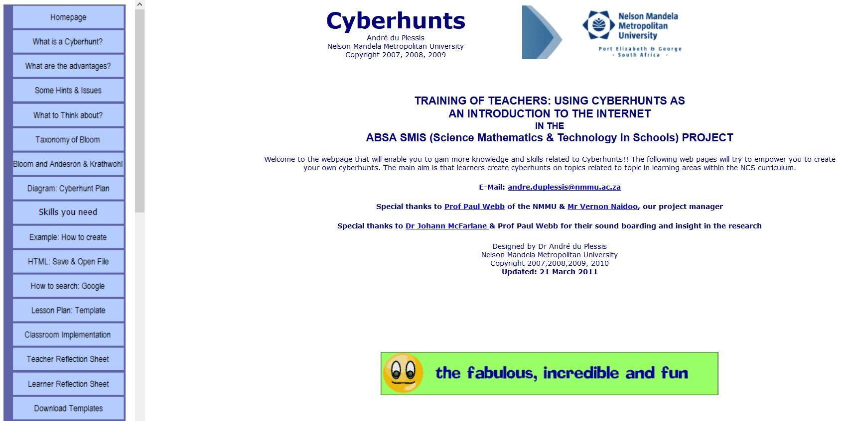 Cyberhunts