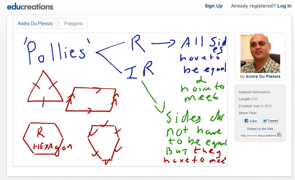 Polygons iPad