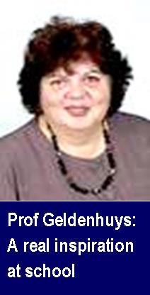 Prof Geldenhuys